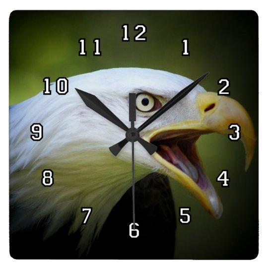 Eagle head clock