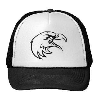 Eagle Head From Side Trucker Hat