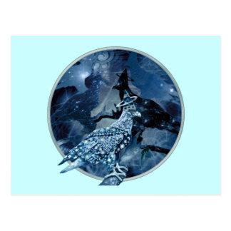 Eagle - Heavenly Wanderer № 1 Postcard
