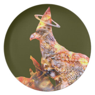 Eagle - Heavenly Wanderer № 77 Party Plate