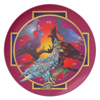 Eagle - Heavenly Wanderer № 8 Party Plates