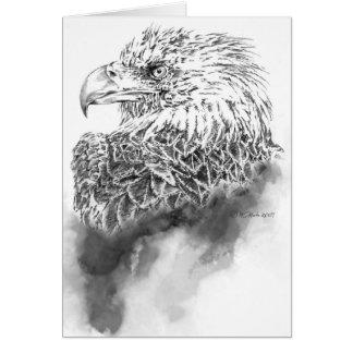 Eagle Illustration Greeting Card