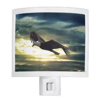 Eagle in Flight Night Light