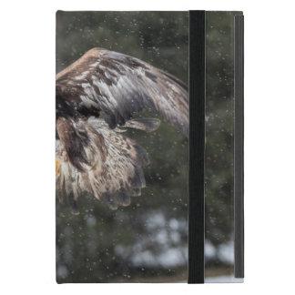 Eagle in Snow iPad Mini Cover