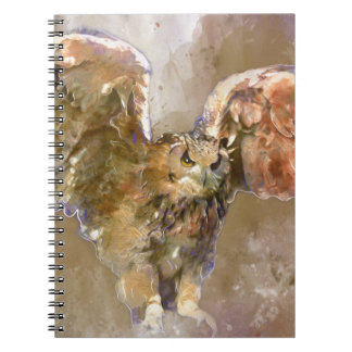 Eagle in watercolor notebooks