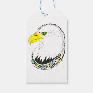 Eagle Ink Drawing Gift Tags