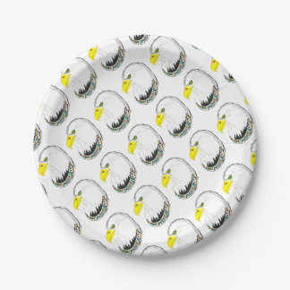 Eagle Ink Drawing Paper Plate
