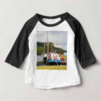 Eagle Inn pub barge, Scotland 2 Baby T-Shirt