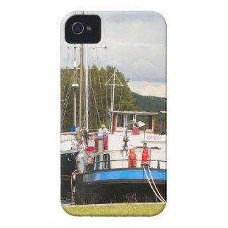 Eagle Inn pub barge, Scotland 2 iPhone 4 Case