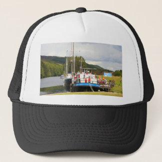 Eagle Inn pub barge, Scotland 2 Trucker Hat