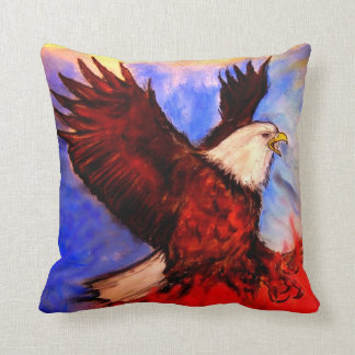 """""""Eagle - It's About America"""" - by Debi Blount Pillows"""