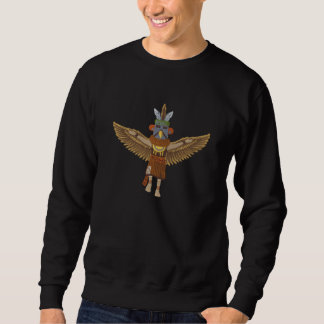 Eagle Kachina Embroidered Sweatshirt