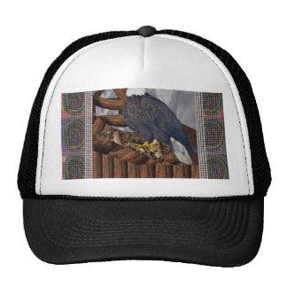 EAGLE King of Bird of Prey North American Habitat Trucker Hat