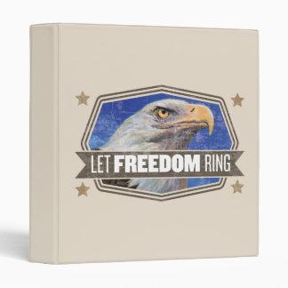 Eagle-Let Freedom Ring Vinyl Binders