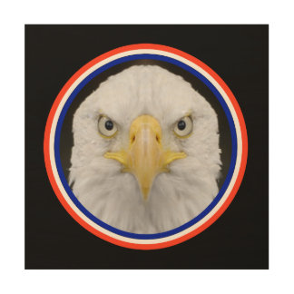 EAGLE LOOKING AT YOU WALL ART
