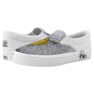 """Eagle   """"Looking Out"""" Slip-On Sneakers"""