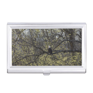 Eagle Lookout Painterly Business Card Holder