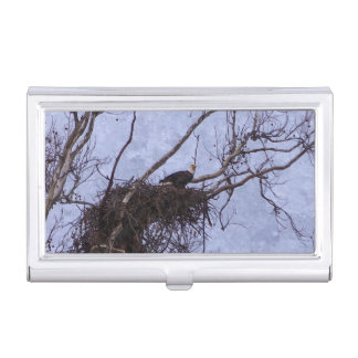 Eagle Lookout Painting Case For Business Cards