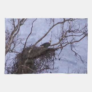 Eagle Lookout Painting Kitchen Towel