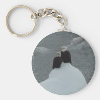 Eagle Love Keychain