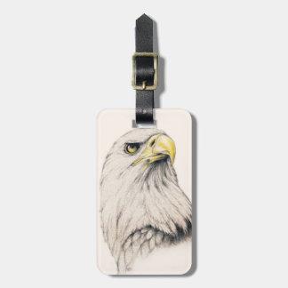 Eagle Luggage Tag