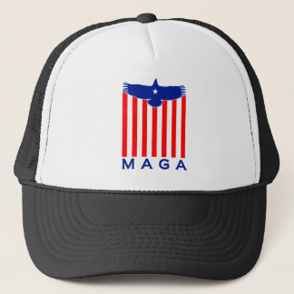 EAGLE MAGA TRUCKER HAT