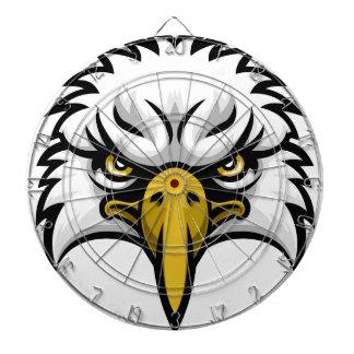 Eagle Mascot Face Dartboards