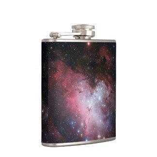 Eagle Nebula Hip Flask