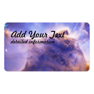 Eagle Nebula (M16) Pillar Detail- Portion of Top Pack Of Standard Business Cards