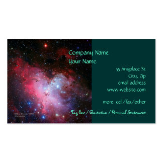 Eagle Nebula, Messier 16 - business card template