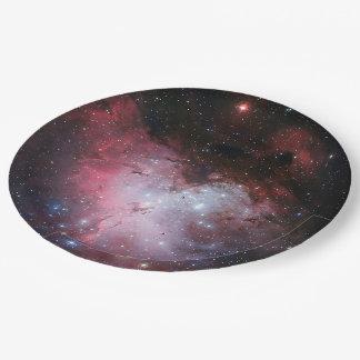 Eagle Nebula Paper Plate