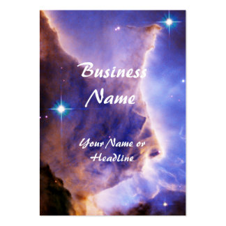 Eagle Nebula Pillar Detail Space Large Business Card