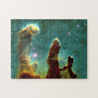 Eagle Nebula Pillars in Beautiful Outerspace Jigsaw Puzzle