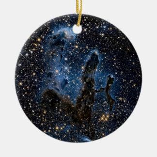 Eagle Nebula Round Ceramic Ornament