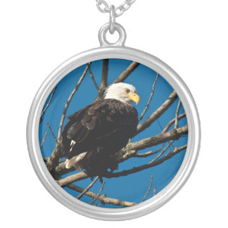 Eagle Nekclace Silver Plated Necklace