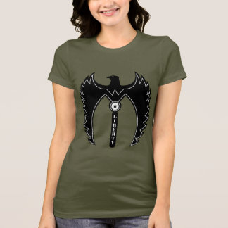 Eagle of Liberty Color Army Women's T-Shirt. T-Shirt