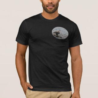 Eagle on the beach T-Shirt