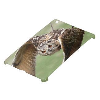 Eagle Owl In Flight iPad Mini Covers