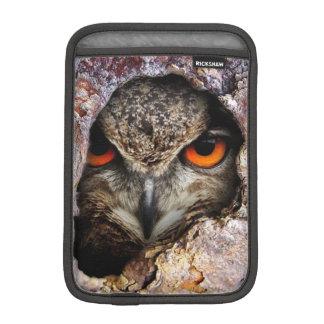 Eagle Owl iPad Mini Sleeve, Vertical Sleeve For iPad Mini