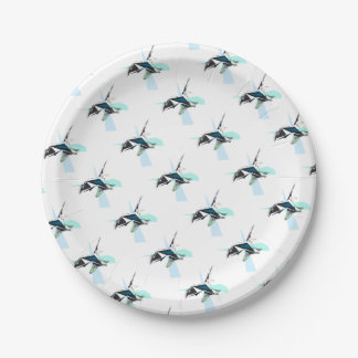 eagle paper plate