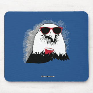 Eagle Party Animal Mouse Pad
