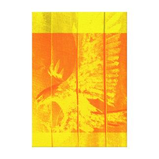 EAGLE - POP-ART CANVAS GALLERY WRAP CANVAS