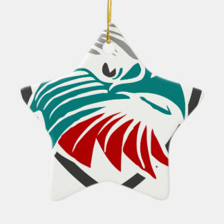 Eagle Pride And Protection Ceramic Ornament
