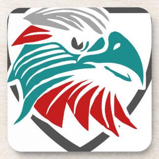 Eagle Pride And Protection Coaster