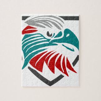Eagle Pride And Protection Jigsaw Puzzle