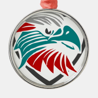 Eagle Pride And Protection Metal Ornament
