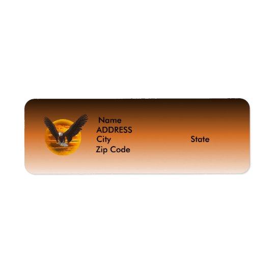 Eagle Return Address Label