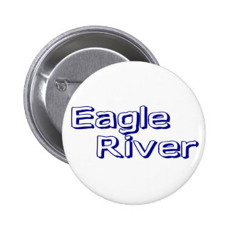 Eagle River Pinback Buttons