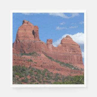 Eagle Rock I Sedona Arizona Travel Photography Paper Napkin