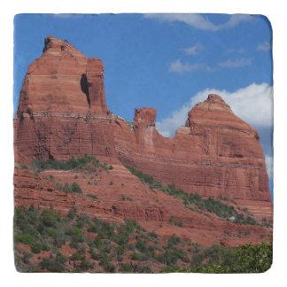 Eagle Rock I Sedona Arizona Travel Photography Trivet